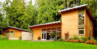 Coates Design Architect – Passive solar home
