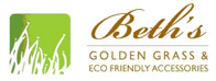 Beth's Golden Grass & Eco Friendly Accessories