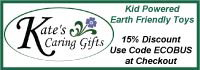 Kate's Caring Gifts – Kid Powered, Earth Friendly Toys.