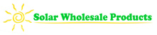 Solar Wholesale Products – Canada